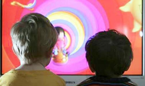 Телевизор тормозит развитие речи у детей