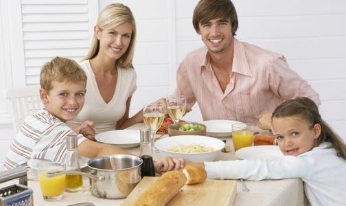 Лучшая диета – ужин с родными