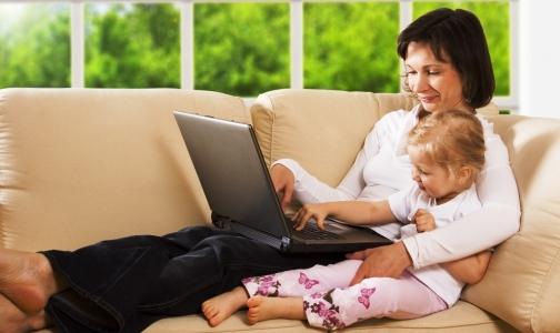 Молодым мамам полезно работать