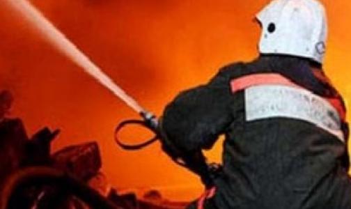 В больнице имени Боткина тушили пожар в корпусе «Ж»