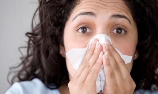 В Петербурге гриппом и ОРВИ болеют неактивно