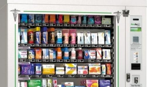 В Петербурге появились торговые автоматы по продаже БАДов и презервативов