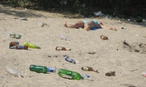 За плохое состояние пляжей Петербурга виновные привлечены к административной ответственности