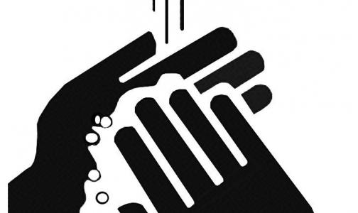Только 77% мужчин моют руки после туалета