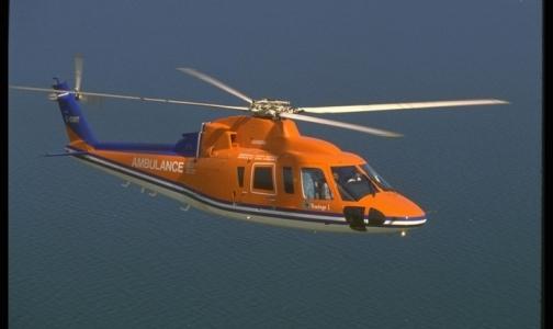 Пациентов в крупные больницы Петербурга скоро будут доставлять вертолетом