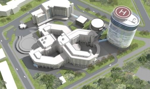 Новый корпус центра  Алмазова собираются достроить за год