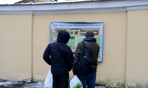 В Петербурге остановили строительство нового корпуса Мариинской больницы