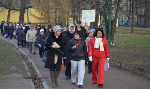 Петербуржцы будут гулять по Таврическому саду с врачами