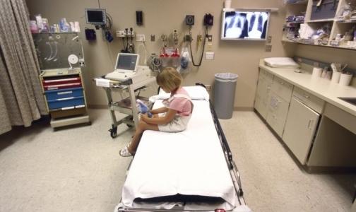 На сеансе физиотерапии в детской поликлинике Кронштадта загорелось оборудование