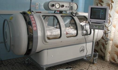 В Детской городской больнице № 5 смогут работать сразу три барокамеры