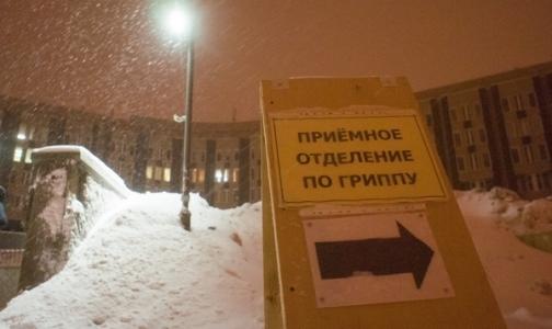 Для лечения гриппа в больницах Петербурга есть все, кроме свободных мест