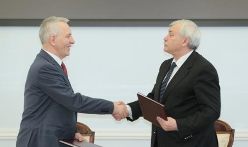 Смольный подписал соглашение с центром им. Алмазова