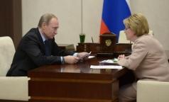 Вероника Скворцова рассказала президенту о «благополучной» эпидемии гриппа и стабильных ценах на лекарства