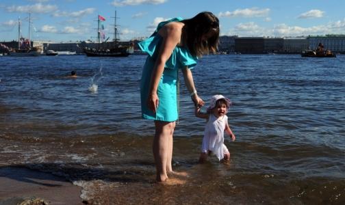 В Петербурге нашли один пляж с чистой водой