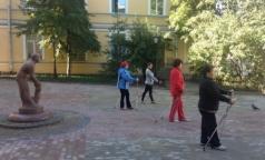 В Петербурге отремонтировали Городской гериатрический центр