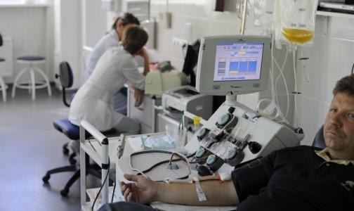 В Петербурге появится новая награда для горожан, регулярно сдающих кровь