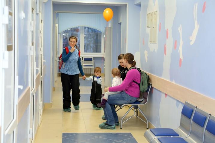После капремонта открыли детскую поликлинику №59