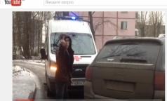 В Петербурге водитель иномарки преградил дорогу «Скорой» с лежачим пациентом