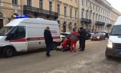 На медиков «Скорой» напали после ДТП в центре Петербурга