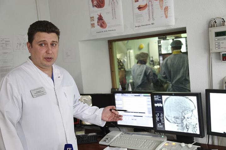 В 26-й больнице пациентов будут оперировать на двух агиографах