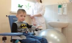 В Детской больнице им. Раухфуса открылось отделение реабилитации