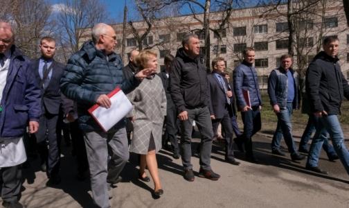 Боткинской больнице могут оставить только три корпуса на исторической территории