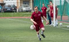 В «Большом футболе» победила команда врачей 26-й больницы