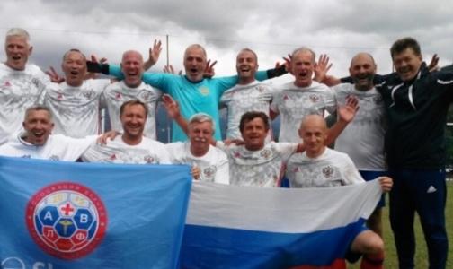 Российские врачи стали двукратными чемпионами мира по футболу
