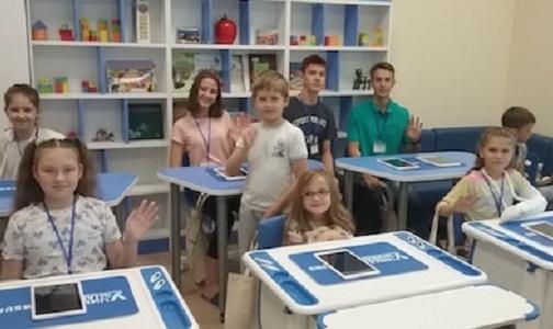 В детской областной больнице открылся мультимедийный класс