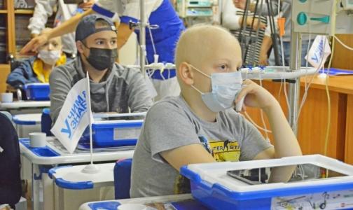 Пациенты НИИ детской онкологии, гематологии и трансплантологии им.Горбачевой  смогут сесть за парты
