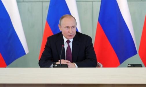 Путин о зарплатах врачей: Будем стремиться, чтобы уровень зарплат «шел по восходящей»