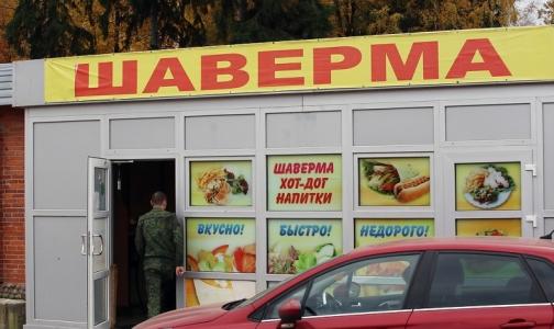 В Петербурге временно закрыли 14 точек с шавермой