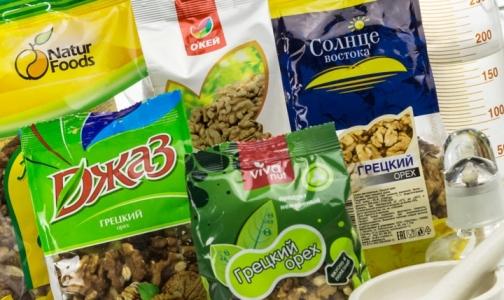 Специалисты назвали некачественные грецкие орехи с плесенью