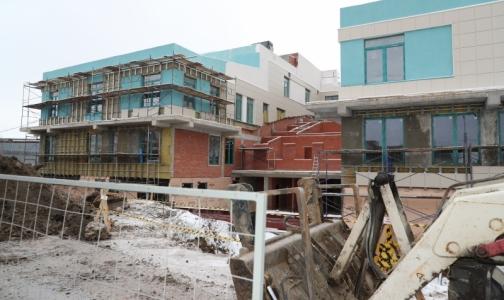 Строящейся поликлинике в Стрельне дали новый срок