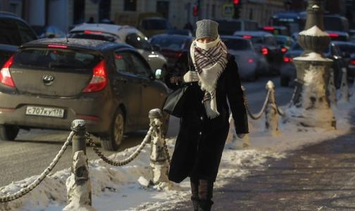 Петербуржцам рассказали, как пережить крещенские морозы без обморожений