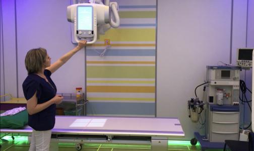 В Детской больнице №2 открыли новый кабинет лучевой диагностики