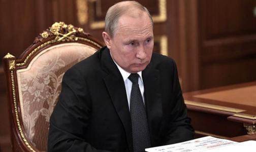 Путин назвал семьи с тремя детьми правильными