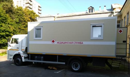 В Петербурге заработает маммографический кабинет на КАМАЗе