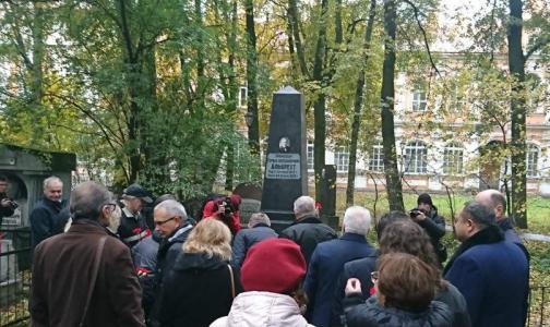 В Александро-Невской Лавре открыли памятник знаменитому врачу Герману Альбрехту