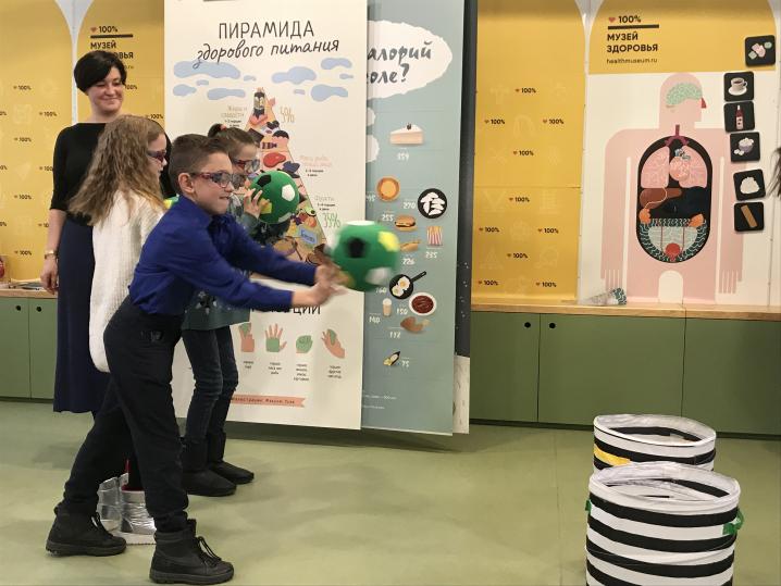 В Петербурге детей и подростков отправят в музей, чтобы научить здоровой жизни