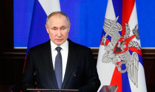 Президент поручил Минздраву разработать предложения по развитию системы паллиативной помощи