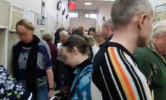 Петербуржцы пожаловались на огромные очереди в Городском консультативном центре