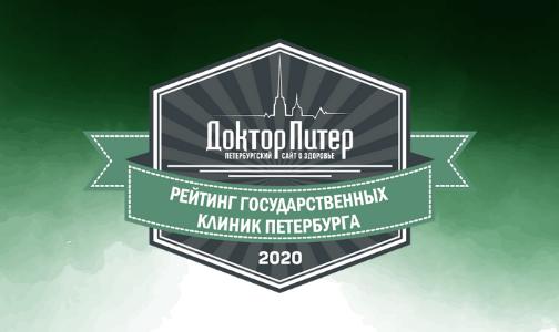 Рейтинг лучших государственных клиник Петербурга 2020