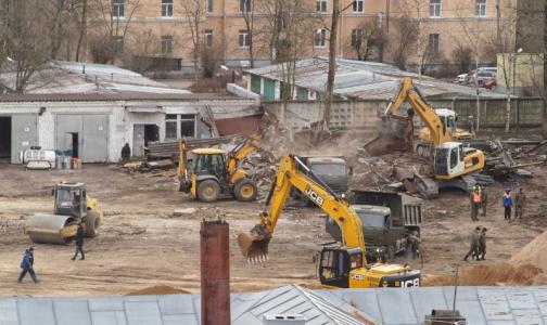 В Пушкине строят инфекционный центр для заболевших коронавирусом