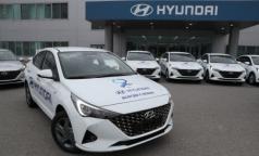 Детским поликлиникам Петербурга подарили 18 автомобилей. В них посадят участковых педиатров