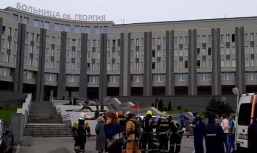 Главный следователь Петербурга: Во время пожара в больнице святого Георгия погибли 5 пациентов