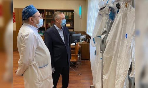 В больнице № 31 на Крестовском острове более 40 медиков заразились коронавирусом