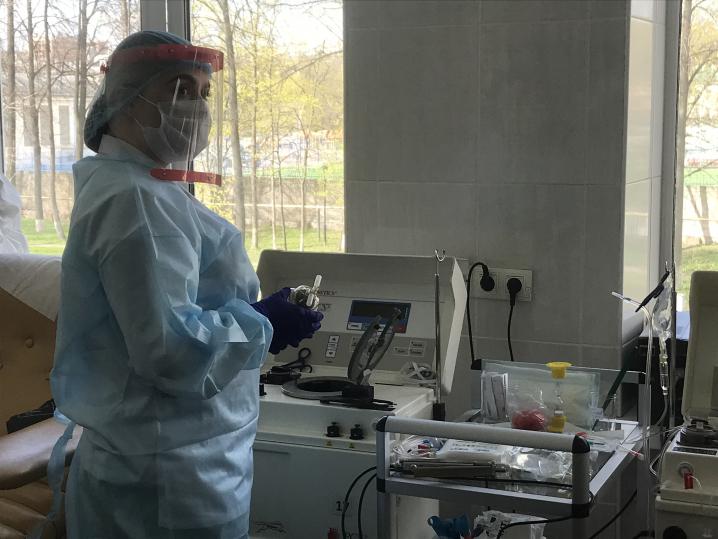 Первые в Петербурге доноры плазмы перенесли COVID-19 без симптомов