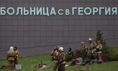 В комздраве подтвердили смерть шестого пациента при пожаре в больнице святого Георгия