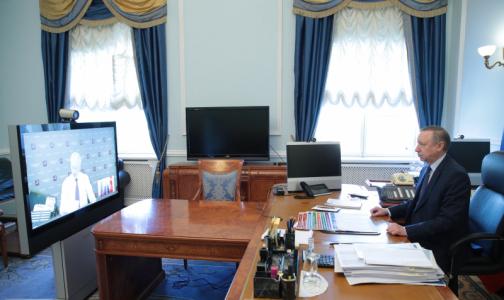 Беглов: Эпидобстановка в Петербурге остается сложной, но тенденция к замедлению роста заболеваемости есть